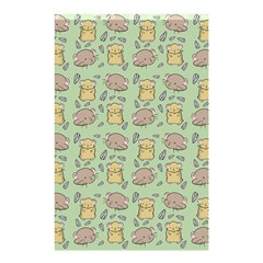 Cute Hamster Pattern Shower Curtain 48  X 72  (small)  by BangZart