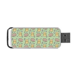 Cute Hamster Pattern Portable Usb Flash (two Sides) by BangZart