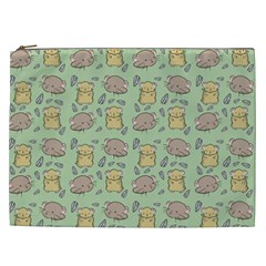 Cute Hamster Pattern Cosmetic Bag (xxl)  by BangZart