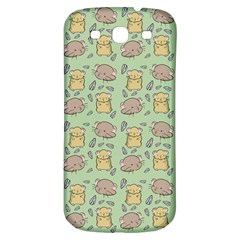 Cute Hamster Pattern Samsung Galaxy S3 S Iii Classic Hardshell Back Case by BangZart