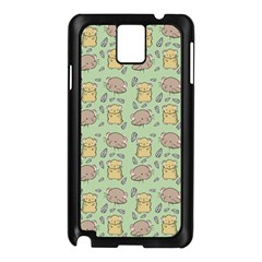 Cute Hamster Pattern Samsung Galaxy Note 3 N9005 Case (black)