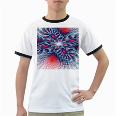 Creative Abstract Ringer T Shirts