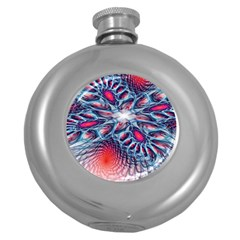 Creative Abstract Round Hip Flask (5 Oz) by BangZart