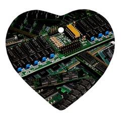 Computer Ram Tech Ornament (heart) by BangZart