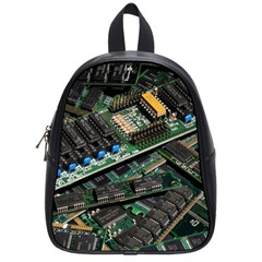 Computer Ram Tech School Bags (small)  by BangZart