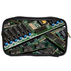 Computer Ram Tech Toiletries Bags 2 Side by BangZart