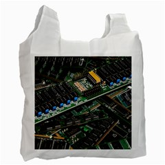 Computer Ram Tech Recycle Bag (one Side) by BangZart