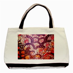 Colorful Art Traditional Batik Pattern Basic Tote Bag by BangZart