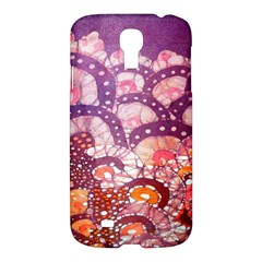 Colorful Art Traditional Batik Pattern Samsung Galaxy S4 I9500/i9505 Hardshell Case by BangZart