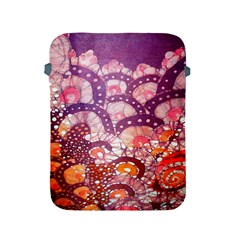 Colorful Art Traditional Batik Pattern Apple Ipad 2/3/4 Protective Soft Cases