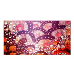 Colorful Art Traditional Batik Pattern Satin Shawl by BangZart