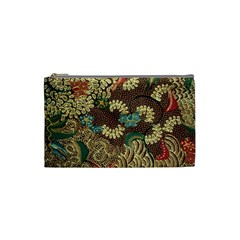 Colorful The Beautiful Of Art Indonesian Batik Pattern Cosmetic Bag (small)  by BangZart
