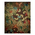 Colorful The Beautiful Of Art Indonesian Batik Pattern Shower Curtain 60  x 72  (Medium)  54.25 x65.71 Curtain