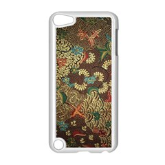 Colorful The Beautiful Of Art Indonesian Batik Pattern Apple Ipod Touch 5 Case (white) by BangZart