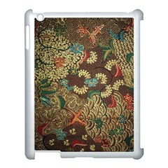 Colorful The Beautiful Of Art Indonesian Batik Pattern Apple Ipad 3/4 Case (white) by BangZart
