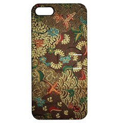 Colorful The Beautiful Of Art Indonesian Batik Pattern Apple Iphone 5 Hardshell Case With Stand