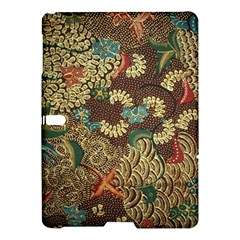 Colorful The Beautiful Of Art Indonesian Batik Pattern Samsung Galaxy Tab S (10 5 ) Hardshell Case  by BangZart