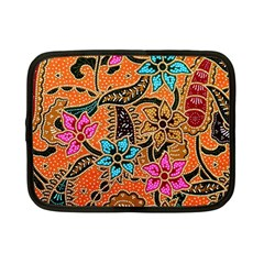 Colorful The Beautiful Of Art Indonesian Batik Pattern(1) Netbook Case (small)  by BangZart