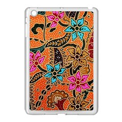 Colorful The Beautiful Of Art Indonesian Batik Pattern(1) Apple Ipad Mini Case (white)