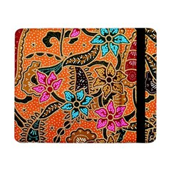 Colorful The Beautiful Of Art Indonesian Batik Pattern(1) Samsung Galaxy Tab Pro 8 4  Flip Case by BangZart