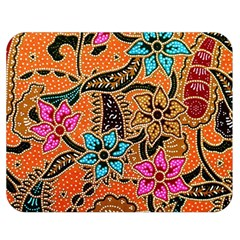 Colorful The Beautiful Of Art Indonesian Batik Pattern(1) Double Sided Flano Blanket (medium)  by BangZart