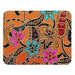 Colorful The Beautiful Of Art Indonesian Batik Pattern(1) Double Sided Flano Blanket (large)  by BangZart