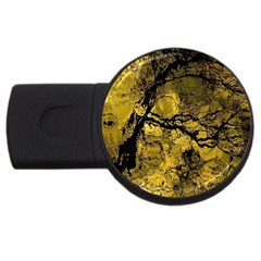 Colorful The Beautiful Of Traditional Art Indonesian Batik Pattern Usb Flash Drive Round (4 Gb) by BangZart