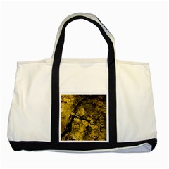 Colorful The Beautiful Of Traditional Art Indonesian Batik Pattern Two Tone Tote Bag by BangZart