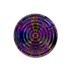Color In The Round Rubber Round Coaster (4 Pack)