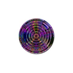Color In The Round Golf Ball Marker by BangZart