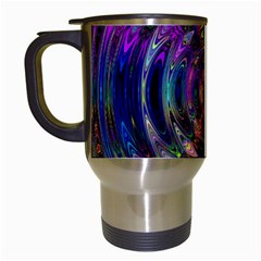 Color In The Round Travel Mugs (white) by BangZart