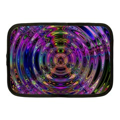 Color In The Round Netbook Case (medium)  by BangZart