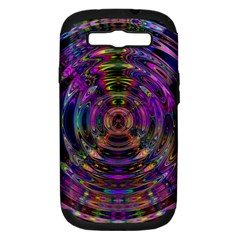 Color In The Round Samsung Galaxy S Iii Hardshell Case (pc+silicone)