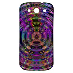 Color In The Round Samsung Galaxy S3 S Iii Classic Hardshell Back Case by BangZart