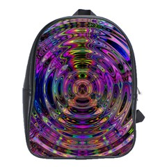 Color In The Round School Bags (xl)  by BangZart