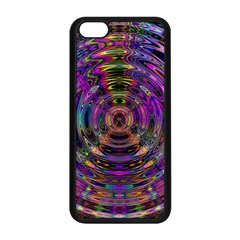 Color In The Round Apple Iphone 5c Seamless Case (black) by BangZart