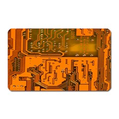 Circuit Board Pattern Magnet (rectangular) by BangZart