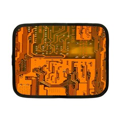 Circuit Board Pattern Netbook Case (small)