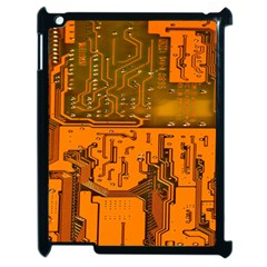 Circuit Board Pattern Apple Ipad 2 Case (black) by BangZart