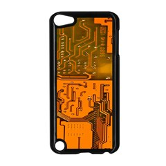 Circuit Board Pattern Apple Ipod Touch 5 Case (black) by BangZart