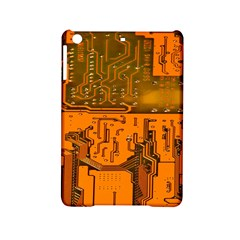 Circuit Board Pattern Ipad Mini 2 Hardshell Cases