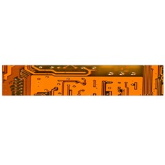 Circuit Board Pattern Flano Scarf (large)