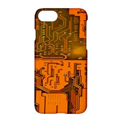 Circuit Board Pattern Apple Iphone 7 Hardshell Case