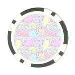 Cat Animal Pet Pattern Poker Chip Card Guard Front