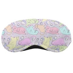 Cat Animal Pet Pattern Sleeping Masks by BangZart