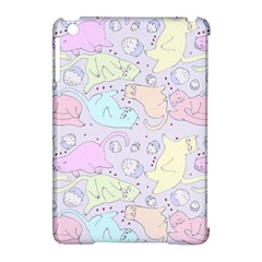 Cat Animal Pet Pattern Apple Ipad Mini Hardshell Case (compatible With Smart Cover) by BangZart