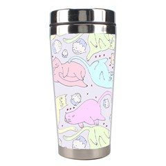 Cat Animal Pet Pattern Stainless Steel Travel Tumblers by BangZart