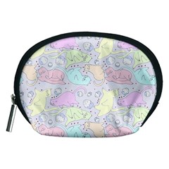 Cat Animal Pet Pattern Accessory Pouches (medium)  by BangZart