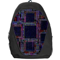 Cad Technology Circuit Board Layout Pattern Backpack Bag