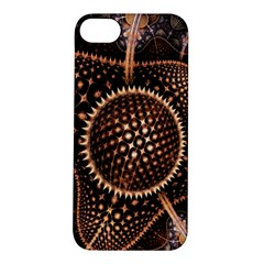 Brown Fractal Balls And Circles Apple Iphone 5s/ Se Hardshell Case by BangZart